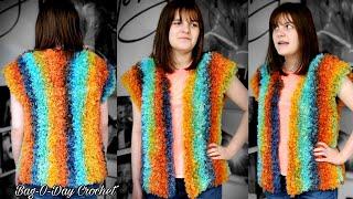 Crochet Easy Vest | Lionbrand …