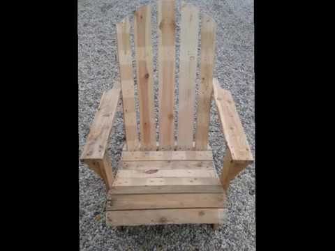 fauteuil de jardin en palettes garden armchair pallets youtube. Black Bedroom Furniture Sets. Home Design Ideas