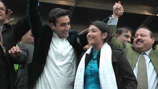 Go Bilawal Go slogans in Kashmir Million March London