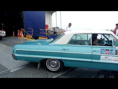 Klasik Otomobiller Bandırma Çıkarması