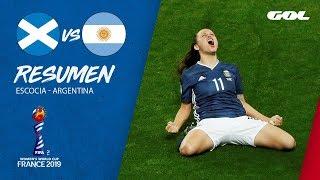 RESUMEN | Escocia 3-3 Argentina