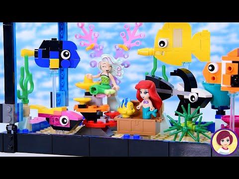 Lego fish tank