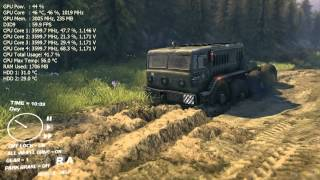 SpinTires Tech Demo (May 13) gameplay PC HD - i5 3570K - MSI GTX 670 Power Edition