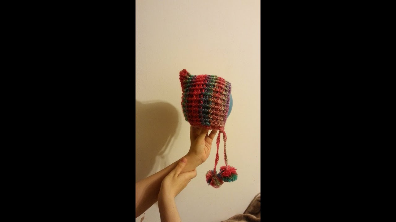 CROCHET How to #Crochet Pixie Style Bonnet Hat #TUTORIAL #164 LEARN ...