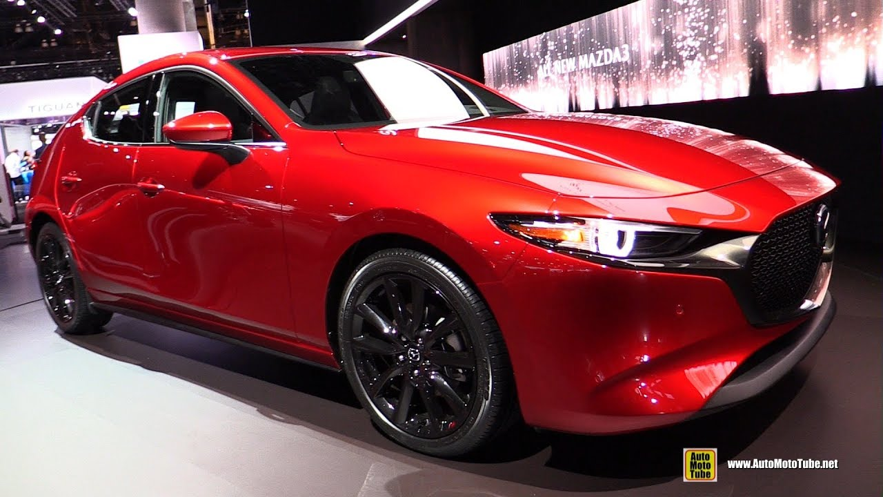 2019 Mazda 3 Hatchback - Exterior and Interior Walkaround - Debut at 2018 LA Auto Show - YouTube