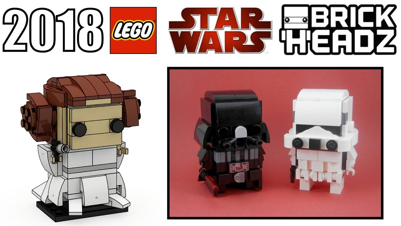 LEGO Star Wars 2018 BrickHeadz Rumors! | Darth Vader ...