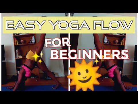basic yoga tutorial sun salutations with asana