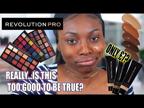 WHAT!! CAN THIS EVEN BE FOR REAL?? £7 PRO FOUNDATION & FULL DRUGSTORE COLLECTION FROM REVOLUTION PRO