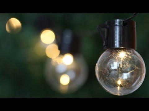 String Solar Powered 10 Bulb Led Light vmN0w8n