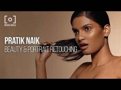 Retouching Beauty and Portraits with Pratik Naik |  RGG EDU Trailer