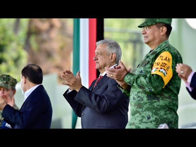 Primer Aniversario de la Guardia Nacional, desde Campo Marte, Ciudad de México