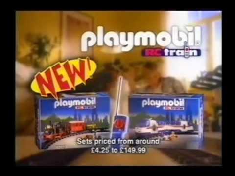 Playmobil rc train commercial youtube - Train playmobil ...