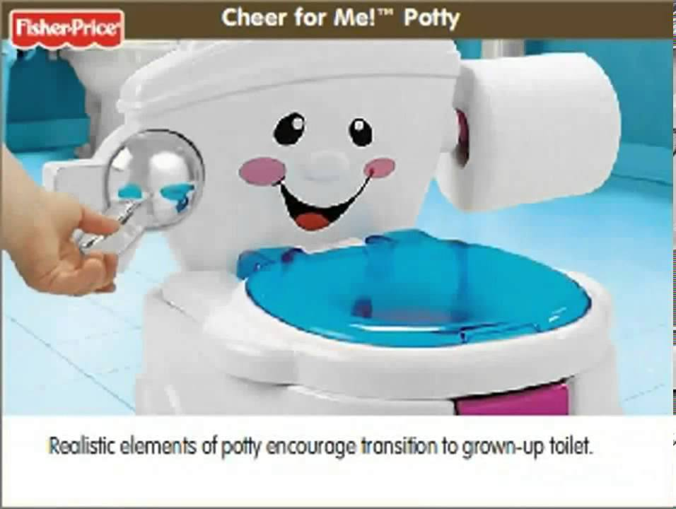 Fisher Price Duck Potty Chair Lounge Cheer For Me Youtube
