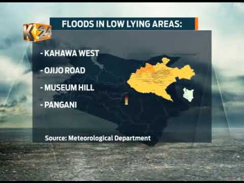 Weatherman issues warns of heavy rains, flooding over the next one week