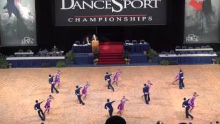 Pacific Ballroom Dance Youth Premier Latin Team at 2013 Nationals (Semi-Final)