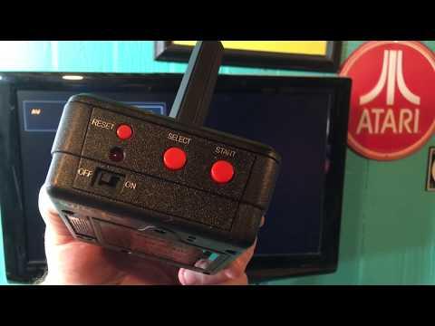 Atari 2600 Plug N Play By Jakks Pacific - Review And Demo