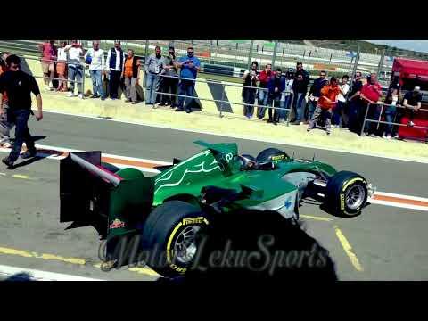 Leku 4 video Tentativa Record F1 Circuito Ricardo Tormo Klass Zwart