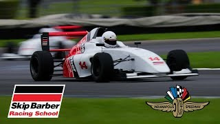 SKIP BARBER F4 EXPERIENCE at INDY!