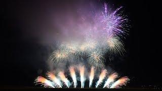 """[4K60p]2018いばらきまつりフィナーレ花火【ミュージックスターマイン】/Ibaraki Matsuri """"Finale Fireworks"""""""