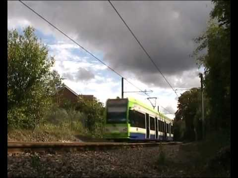London Tramlink, Trams @ Merton Park august 2011