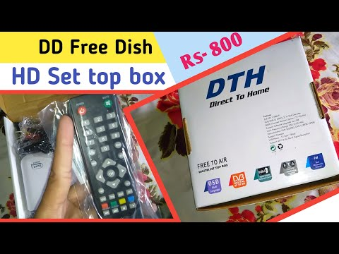 MPEG 4 HD Set Top Box For DD Free Dish Users