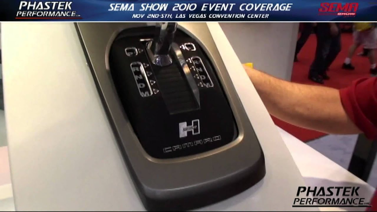2010 Sema Show Hurst Camaro Automatic Shifter Preview