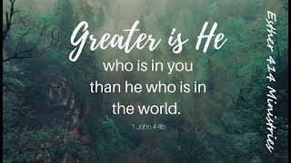 God is Greater! Something To Think About.
