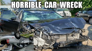 Horrible Car Wreck/ My Car Is Gone