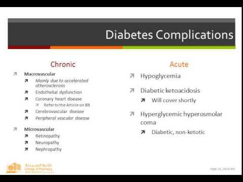 Supplemental Lecture 1 Phar 470   DM & DKA
