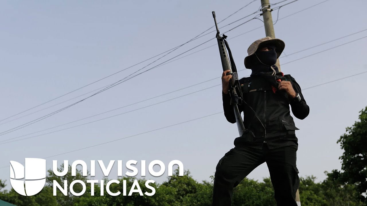 """Con un """"viva el comandante Ortega"""" y tiros al aire, paramilitares se toman Masaya en Nicaragua"""