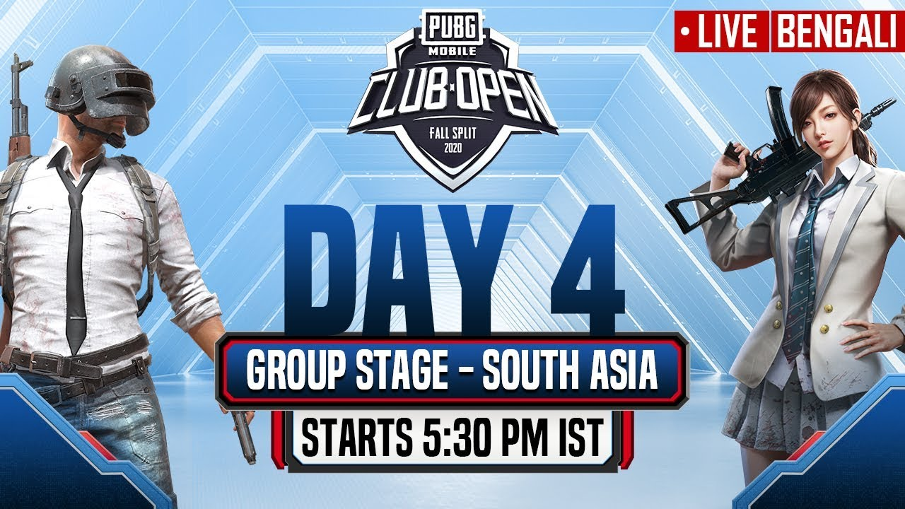 [Bengali] PMCO South Asia Group Stage Day 4 | Fall Split | PUBG MOBILE CLUB OPEN 2020