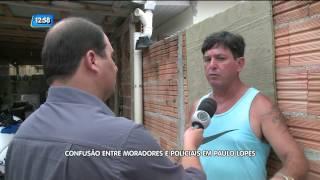 Câmeras de segurança registram agressão de policiais a família, em Paulo Lopes