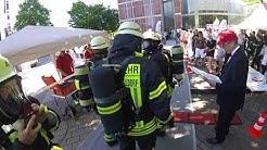 SkyRun 2017 Frankfurt Messeturm Helmkamera Feuerwehr Leidersbach