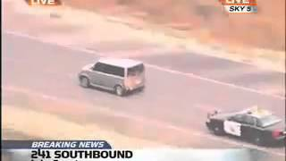 Car chase with Benny Hill hilarity ensuing!