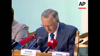 Electoral commission final presser on elections