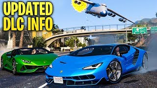 GTA Online - New UPDATED Release Info for the Next DLC