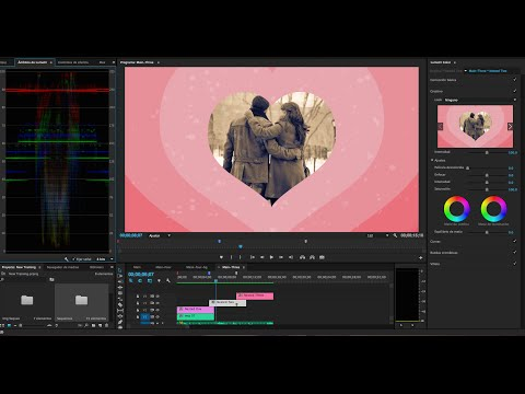 How to create Heart Transition in Premiere Pro 2015 | for valentine's day