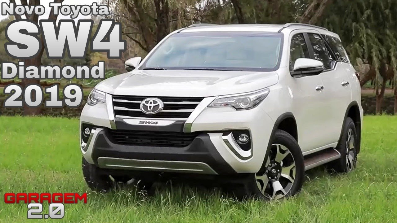 Nova Toyota Sw4 Diamond 2019 Garagem 2 0 Youtube