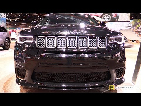 2020 Jeep Grand Cherokee Trackhawk – Exterior Interior Walkaround – 2020 Chicago Auto Show