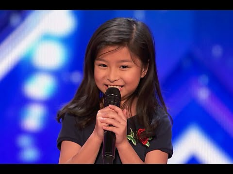 9-Year-Old Celine Tam Stuns Crowd with