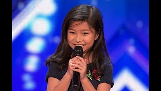 Download lagu 9-Year-Old Celine Tam Stuns Crowd with