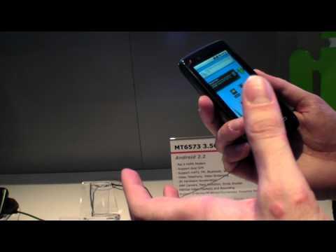 Mediatek MTK6573 ARM11 to power $80 3.5G Android Smartphones