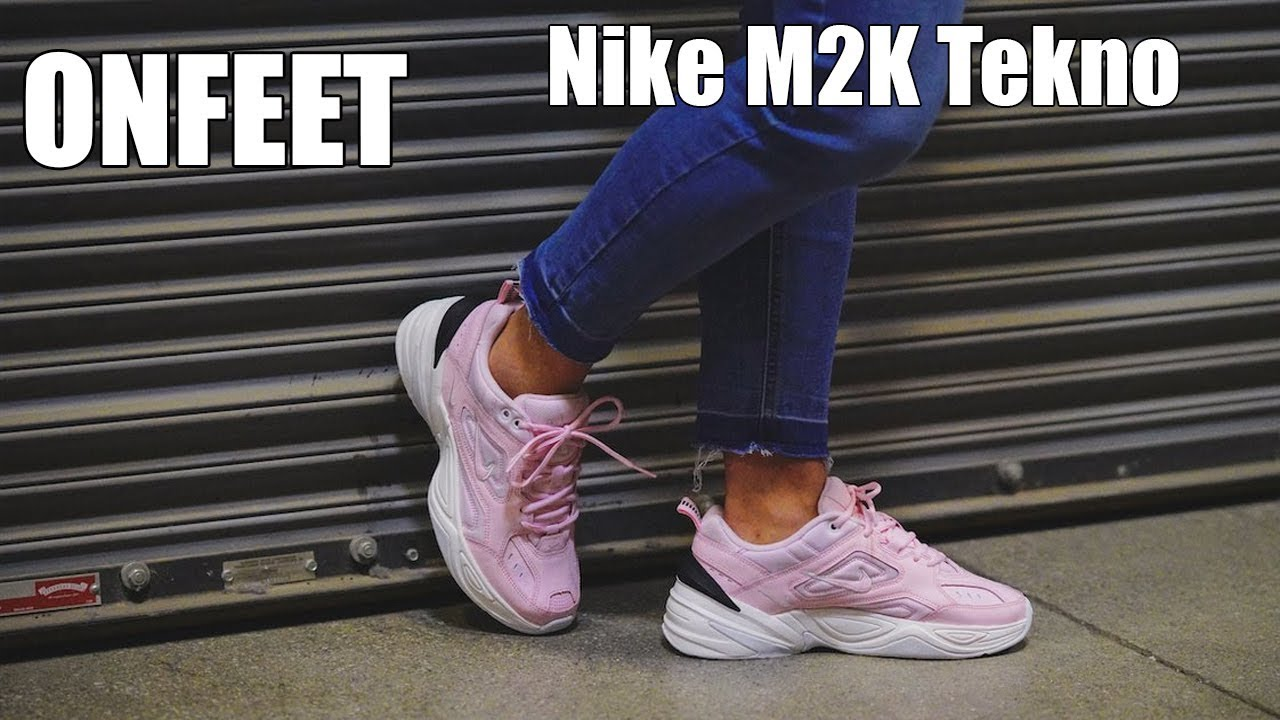 watch a46ef d199d ONFEET Nike M2K Tekno Pink (AO3108-600) Review