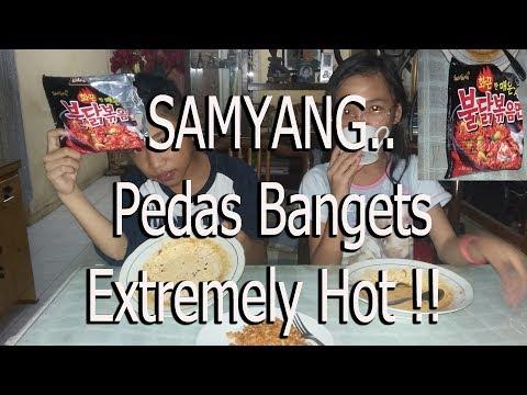 SAMYANG//Reaksi Anak Kecil Makan SAMYANG // Extremely Hot Noodle From Korea // SAMYANG Challenge
