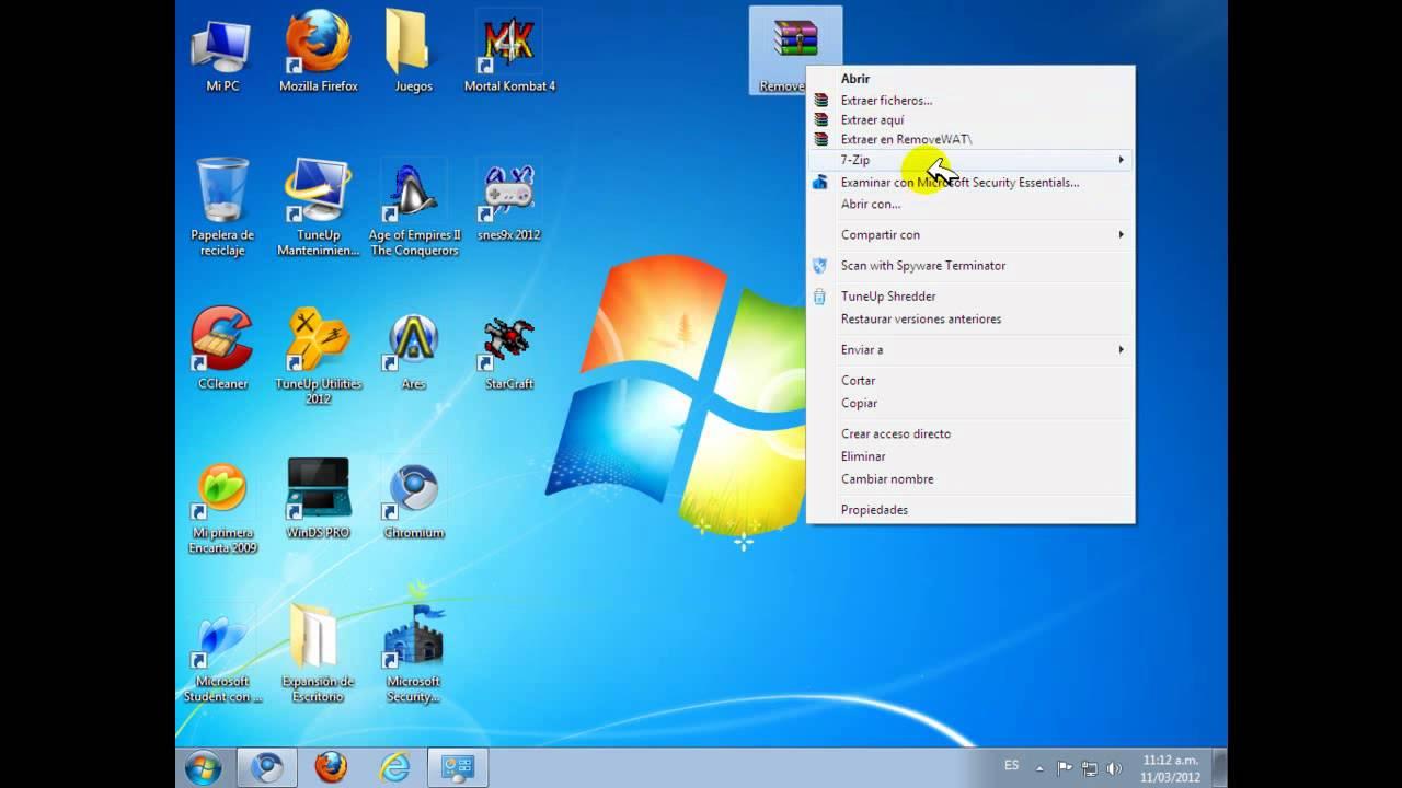 Quitar El Mensaje Esta Copia De Windows No Es Original En Windows 7 Loquendo Youtube