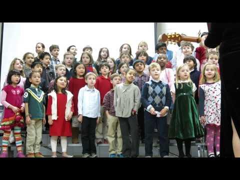 """Foote School Students Sing """"Joyous Hanukkah"""""""