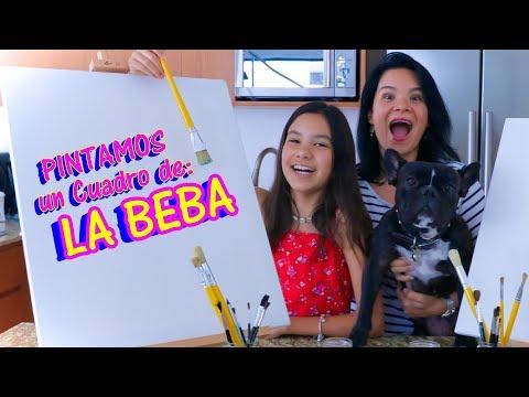 PiNTAMOS un CUADRO de la BEBA | Reto de 6 Colores | AnaNana Toys