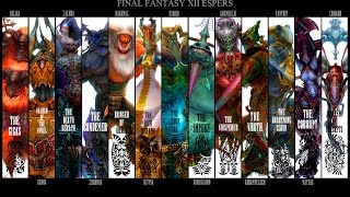 Final Fantasy XII HD Remaster All Quickenings, Espers and Concurrences