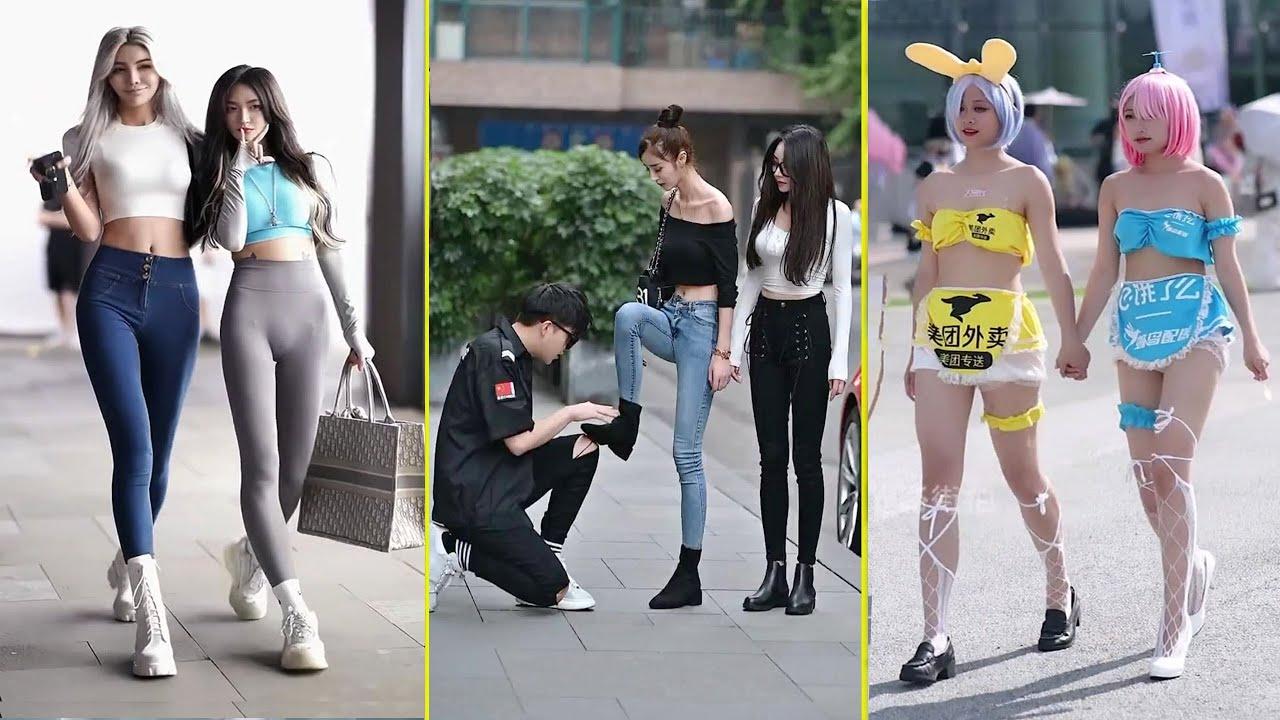 [抖 音] Street Couple Fashion Asian   Thời Trang Cặp Đôi Đường Phố #33