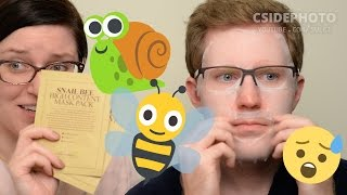 Benton Snail Bee High Content Mask Pack Review & Demo | #FaceMaskFriday 24 | CORRIE SIDE